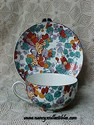 Crown Ducal Chintz Cup and Saucer - Ivory Fruit