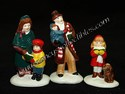 Dept. 56 Snow Village - Caroling Family-sold