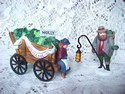 Dickens' Village - Chelsea Market Mistletoe Monger and Cart