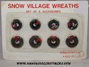 Department 56 - Miniature Christmas Wreaths