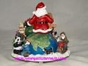 Santa on Globe Musical by Dillard's-view 2