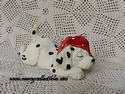 Enesco Dalmatian figurine-view 2
