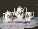 French Porcelain Coffee Set