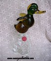 Venetian/Murano Glass Duck Decanter