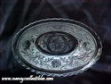 Anchor Hocking Oval Bowl - Sandwich Pattern