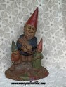 Tom Clark Gnome - Brother, Sis, and Dad-sold