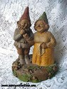 Tom Clark Gnome - Martha and Jay