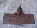 Tom Clark Gnome - Tom Clark Creations Scuplture Sign
