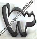 Hallmark Black Cat Shaper Cookie cutter