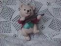 Bear Ornament Fiddlin' Around