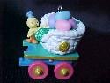 Hallmark Cottontail Express - Spring Collection - Colorful Coal Car