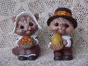 Thanksgiving Salt and Pepper Shakers-sold
