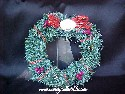 Hallmark/Keepsake - Little Frosty Friends Memory Wreath - 1990