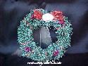 Hallmark/Keepsake - Little Frosty Friends Memory Wreath - 1990