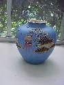 Blue Moriage Vase