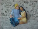 Pocahontas &amp Captain John Smith Ornament
