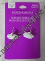 Hallmark Easter Bunny Pierced Earrings