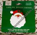 Hallmark/Ambassador Christmas Santa Face Lapel Pin