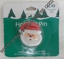 Hallmark/Ambassador Santa Face Lapel Pin