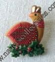 Hallmark Partridge Lapel Pin
