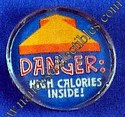 Hallmark Danger: High Calories Inside! Magnet