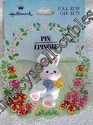 Hallmark Easter Bunny Lapel Pin