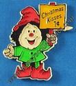 Hallmark Christmas Kisses Magnet