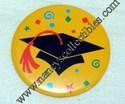 Hallmark Large Grad Button Lapel Pin