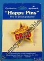 Hallmark Super Glad Grad Lapel Pin