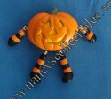 Hallmark Light-up Jack-O-Lantern Pumpkin Lapel Pin