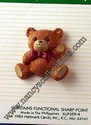 Hallmark Teddy Bear w/Red Bow Lapel Pin