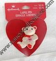 Hallmark Valentine Polar Bear Lapel Pin