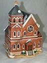 Lefton Colonial Village - Main Street Church - Retired