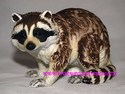 Lefton Bisque Raccoon