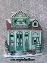 Lefton Colonial Village - Daisy's Flower Shop - Retired-sold