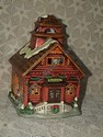 Lefton Colonial Village - Lil Red School House - Retired
