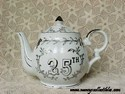 Lefton 25th Anniversary Musical Tea Pot