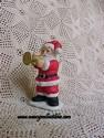 Lefton Colonial Village - Santa With Trumpet-sold