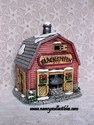 Lefton Colonial Village - Smith's Smithy/Smith's Blacksmith Shop - Retired-1991