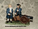 Lefton Williamsburg Collection - Soldiers w/Cannon-sold