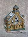 Lefton Colonial Village- Stone Church-Retired - sold
