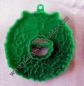 Hallmark Green Christmas Wreath Cookie cutter