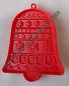 Hallmark Red Christmas Bell Cookie cutter