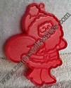 Hallmark Santa With Bag Cookie cutter