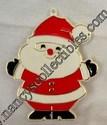 Hallmark Painted Santa Cookie cutter