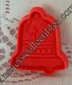 Hallmark Mini Red Christmas Bell Cookie cutter