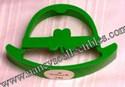 Hallmark - Green Bowler Cookie Cutter/Shaper - St. Patrick's Day