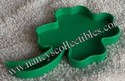 Tupperware Shamrock Cookie Cutters