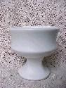 White McCoy Pedestal Planter - sold