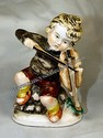 Made In Japan Boy Playing Violin Figurine